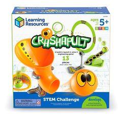 Попади в цель базовый (серия Crashapult STEM) Learning Resources