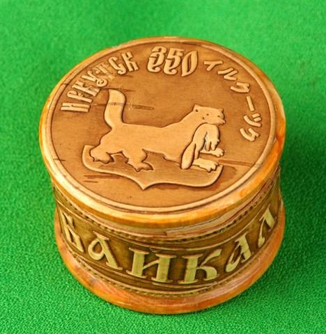 Шкатулка Иркутск 350 лет (японский вариант)