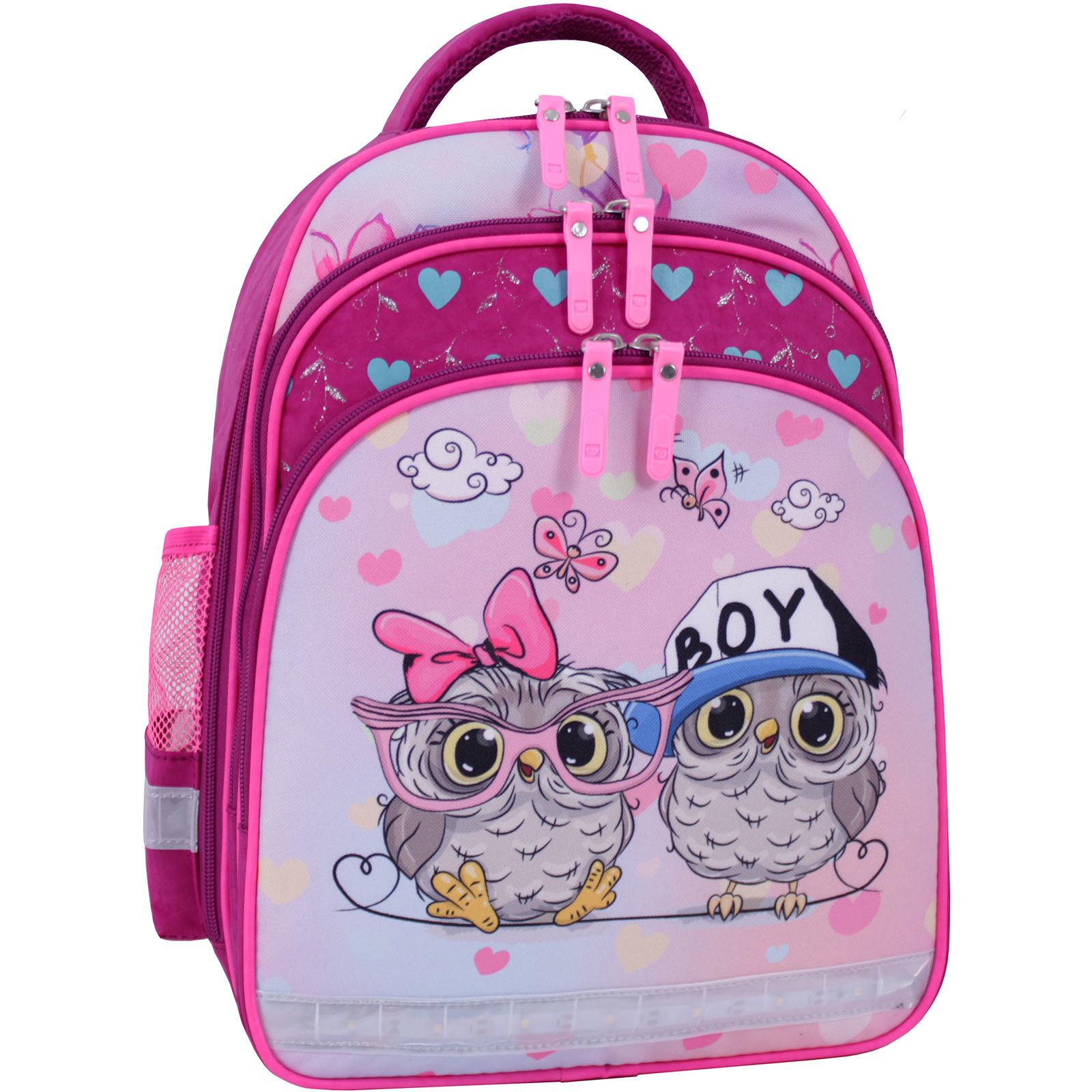 Детские рюкзаки Рюкзак школьный Bagland Mouse 143 малиновый 515 (0051370) IMG_9777_суб.515_.JPG