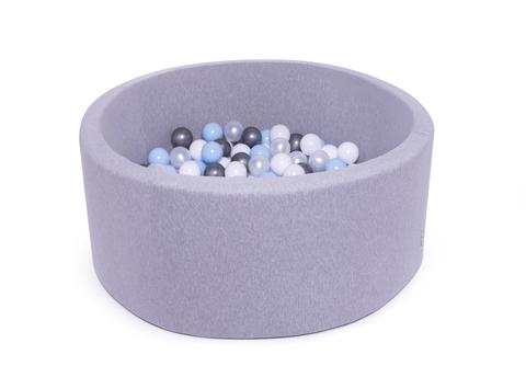 Сухой бассейн Anlipool 100/40см комплект №42 Sea pebbles
