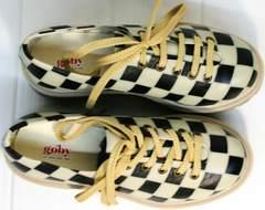 Модные женские туфли без каблука Goby TMK6506