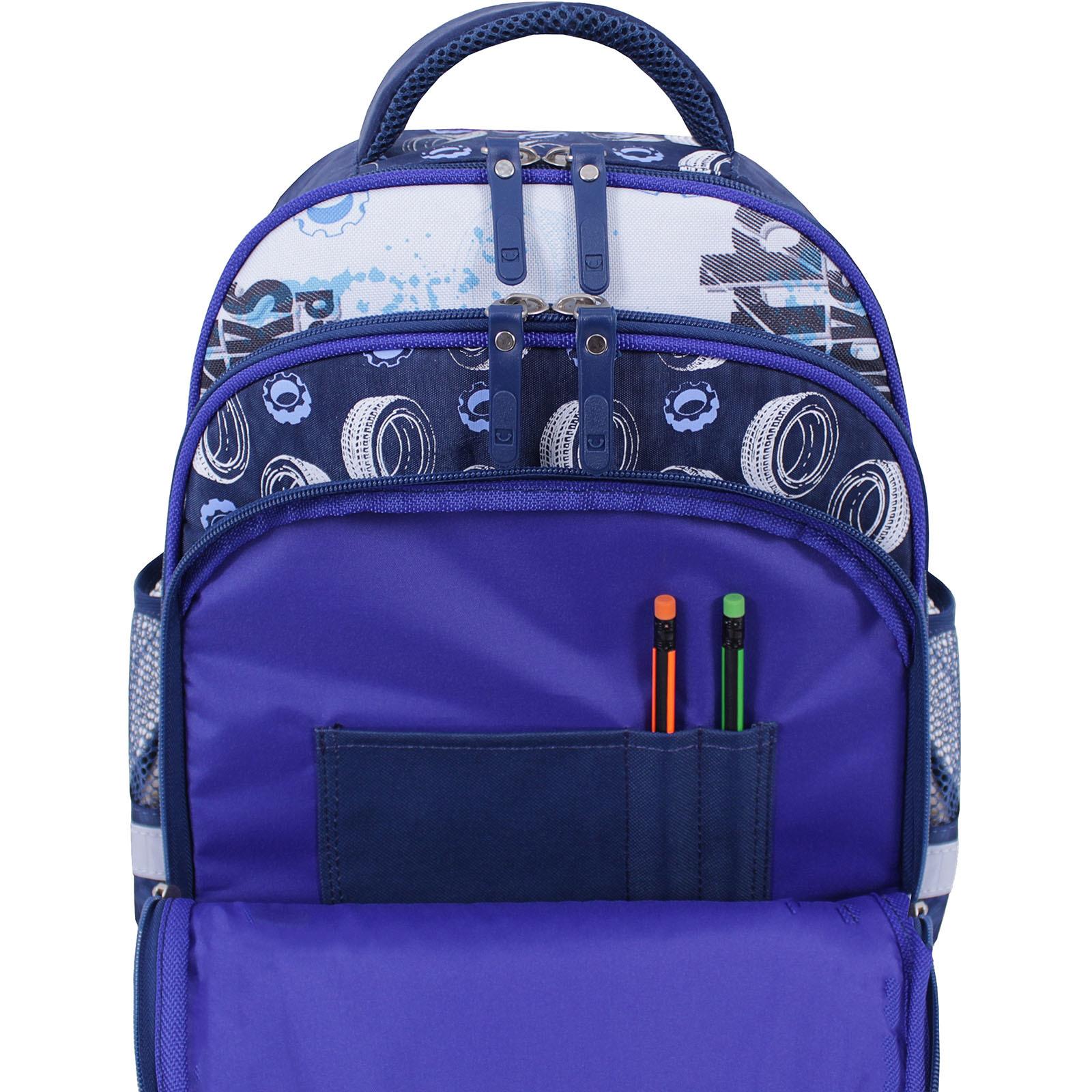 Рюкзак школьный Bagland Mouse 225 синий 551 (0051370) фото 5