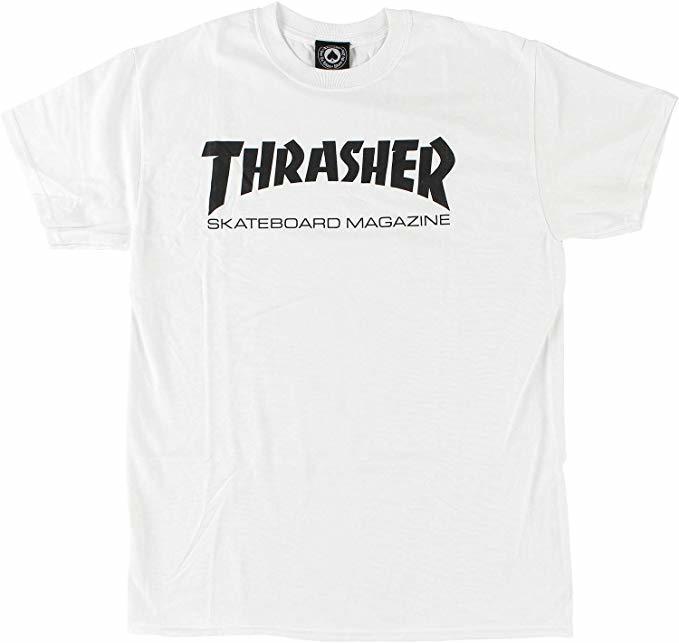 Футболка THRASHER Skate Mag White