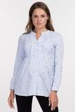 Рубашка для беременных 09728 голубой