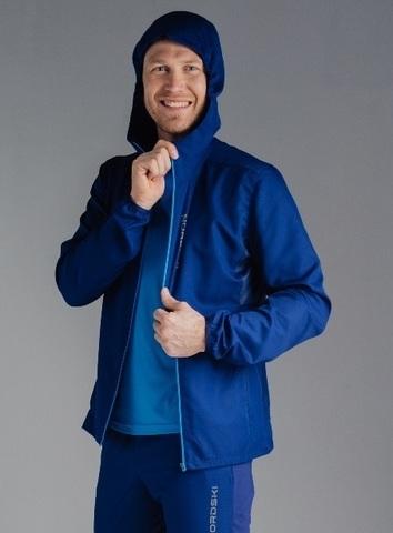 Ветровка для бега Nordski Run Navy/Blue мужская