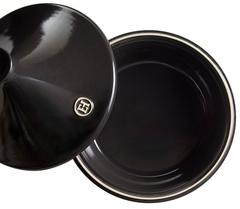 Тажин керамический Emile Henry черный 3л 32 см