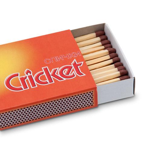 Спички сигарные Крикет