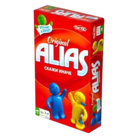 Настольная игра Скажи иначе (Alias Travel). Компактная версия 2