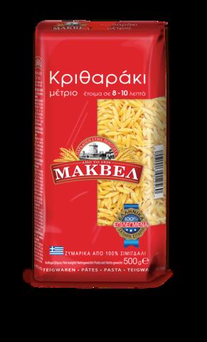 Греческие макароны Орзо (рисинки) MAKVEL 500 гр