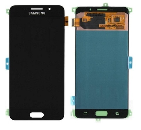 LCD SAMSUNG A7 2016 A710H + Touch Black OLED MOQ:5