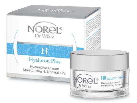 *Увлажняющий и нормализующий крем с гиалуроновой кислотой (NOREL/Hyaluron Plus/50мл/DK 214)