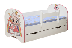 Кровать детская с фотопечатью Принцесса