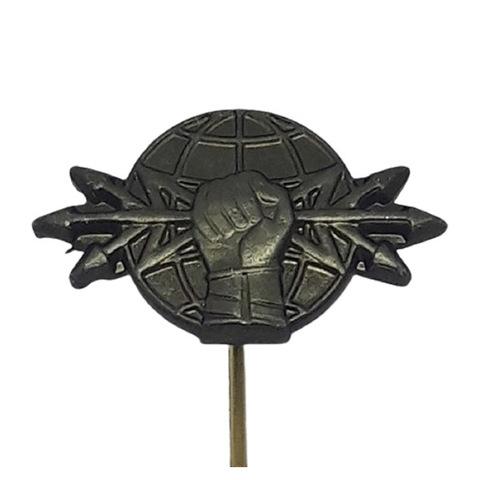 Эмблема петличная РЭБ, металл. защитный