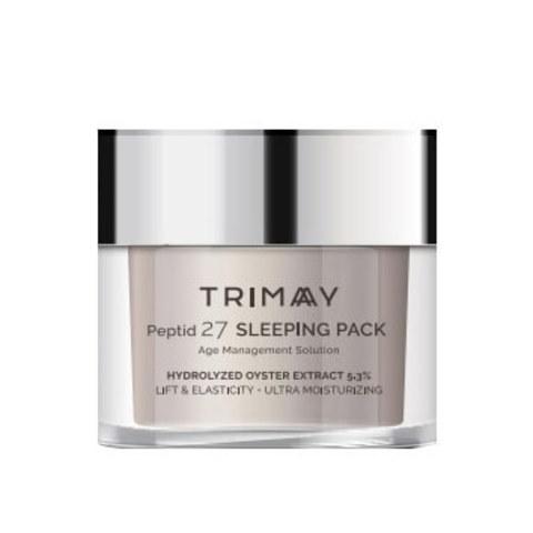 Антивозрастная ночная маска с пептидным комплексом Trimay Peptid 27 Sleeping Pack