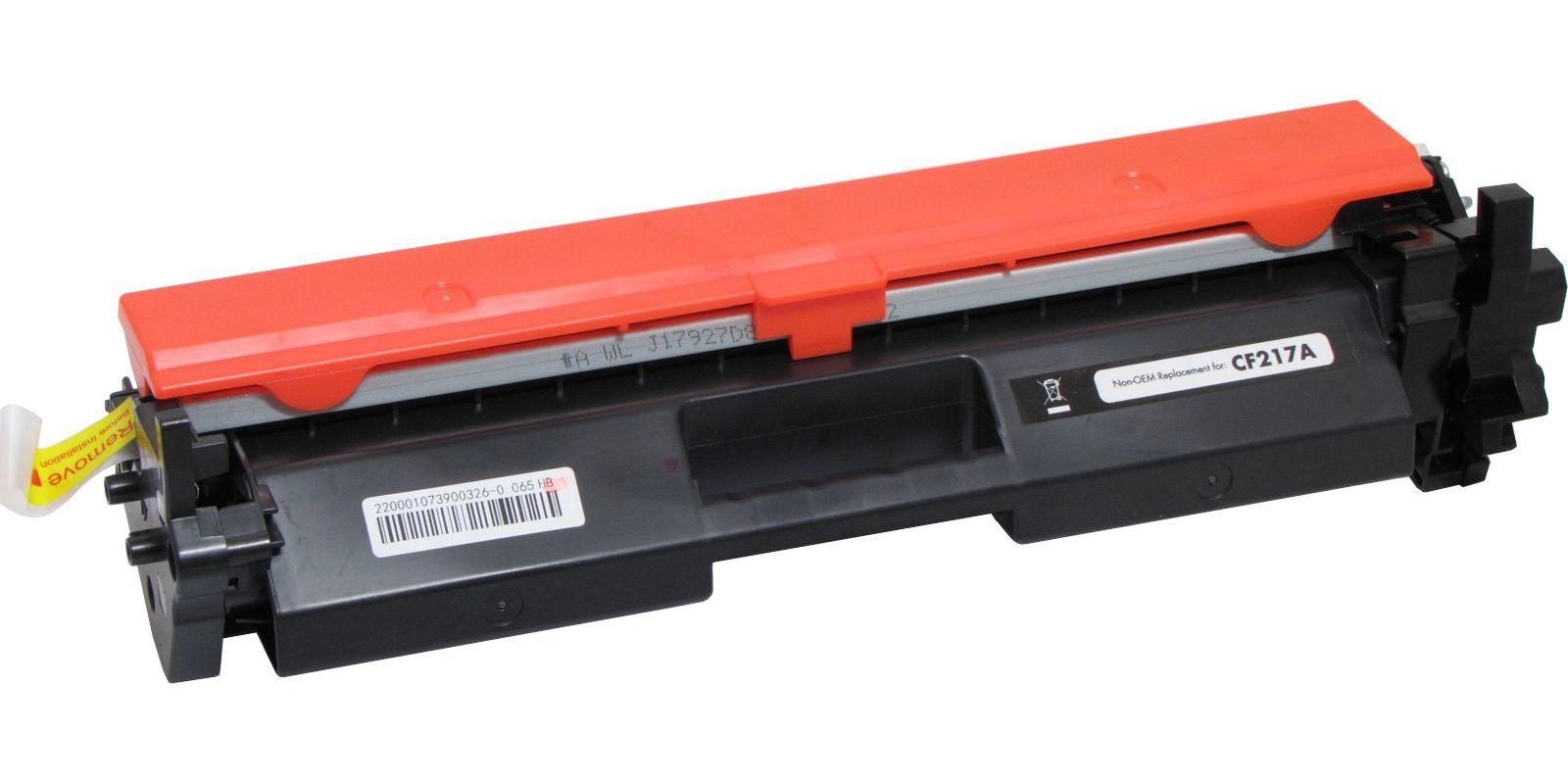Картридж лазерный Static Control© Premium 17A CF217A+CHIP (002-01-SF217A) С ЧИПОМ HM102CP-10, черный, до 1600 стр.