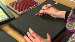 Альбом для зарисовок BLACK BOOK 200г/кв.м 210х297мм, 40л, портрет, спираль, черный