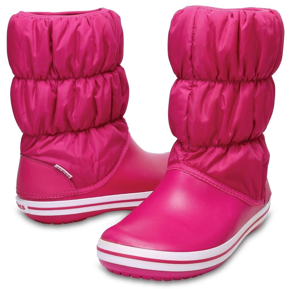 Зимние дутики женские Women's Winter Puff Boot Candy Pink