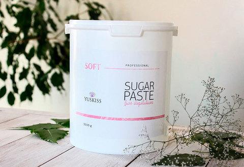 Сахарная паста для шугаринга YUSKISS 3,5кг (SOFT)