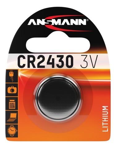 Батарейка CR 2430 ANSMANN 3V (Premium)
