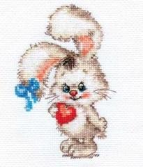 Набор для вышивания Алиса Моей зайке