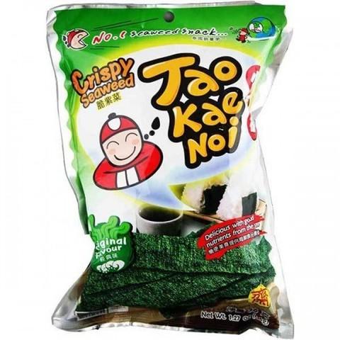 Чипсы из морских водорослей Tao Kae Noi со вкусом соли