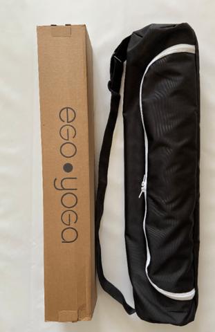 Каучуковый коврик для йоги Moon EY с разметкой 185*68*0,4 см