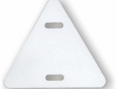 Бирка кабельная У-136 (треугольник 62х62х62 мм) (100 шт) TDM