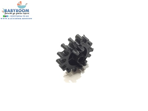 Шестеренка тормозная, размеры 62 х 20 х 15 мм., для спицевых колес, для оси 10 мм.