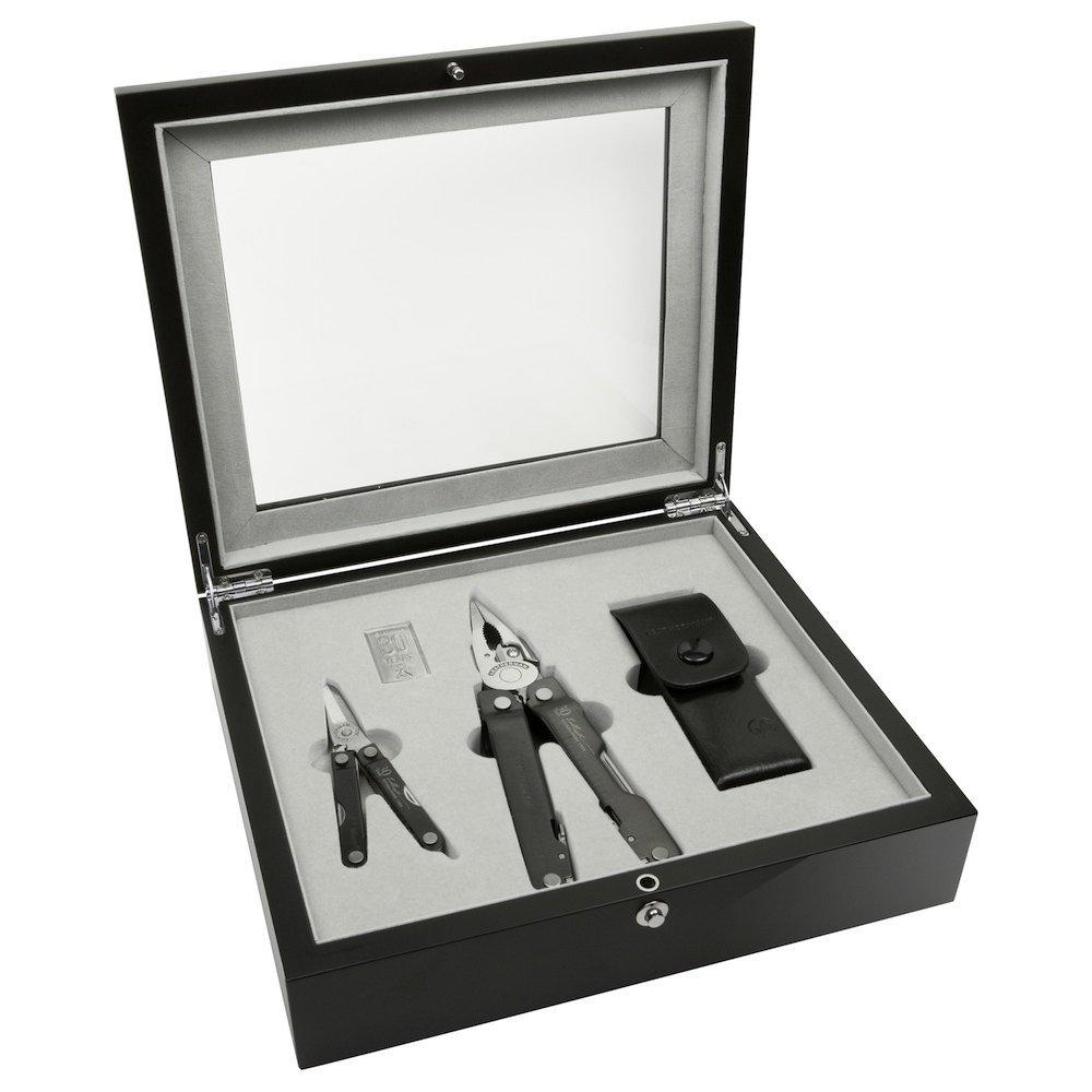 Набор юбилейный Super Tool 300 + Micra (подарочная деревянная упаковка)