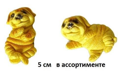 Магнит 973053 Собака Шарпей 6см (НИ) полистоун