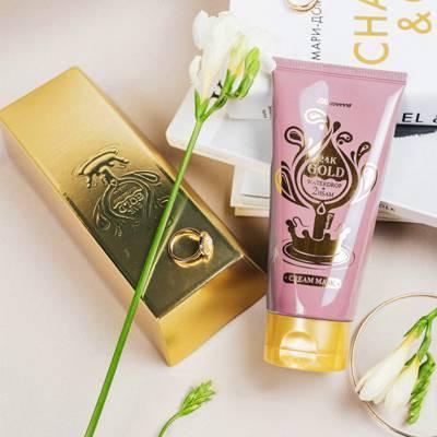 Увлажняющая крем-маска с золотом Elizavecca 24K Gold Waterdrop Cream Mask