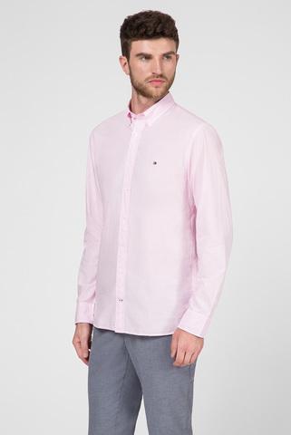 Мужская розовая рубашка GARMENT DYED POPLIN Tommy Hilfiger