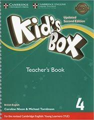 Kid's Box UPDATED Second Edition 4 Teacher's Book