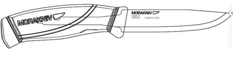 Нож Morakniv Companion