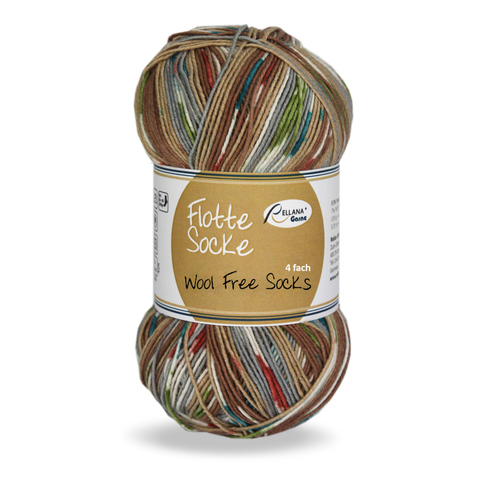 Rellana Flotte Socke Wool Free Stretch 1371