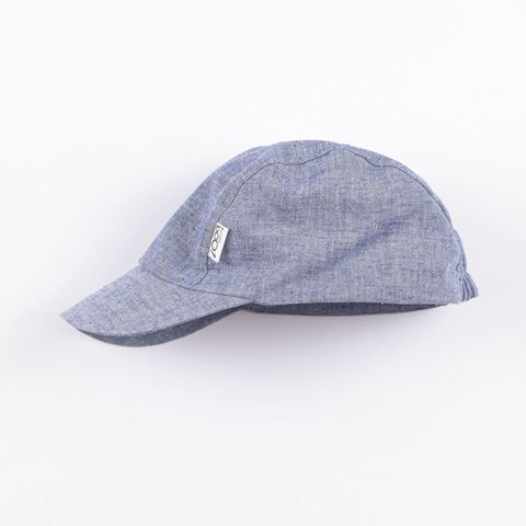 Cotton cap - Blue Melange