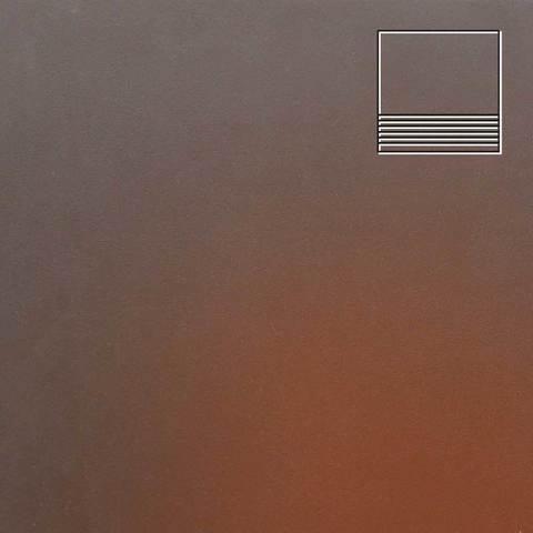 Ceramika Paradyz - Cloud Brown, 300x300x11, артикул 8 - Ступень простая гладкая