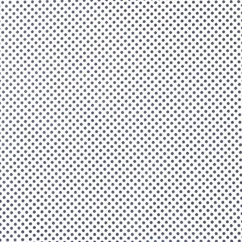 Бязь плательная 150 см 1554/5А б/з цвет черный мелкий горох