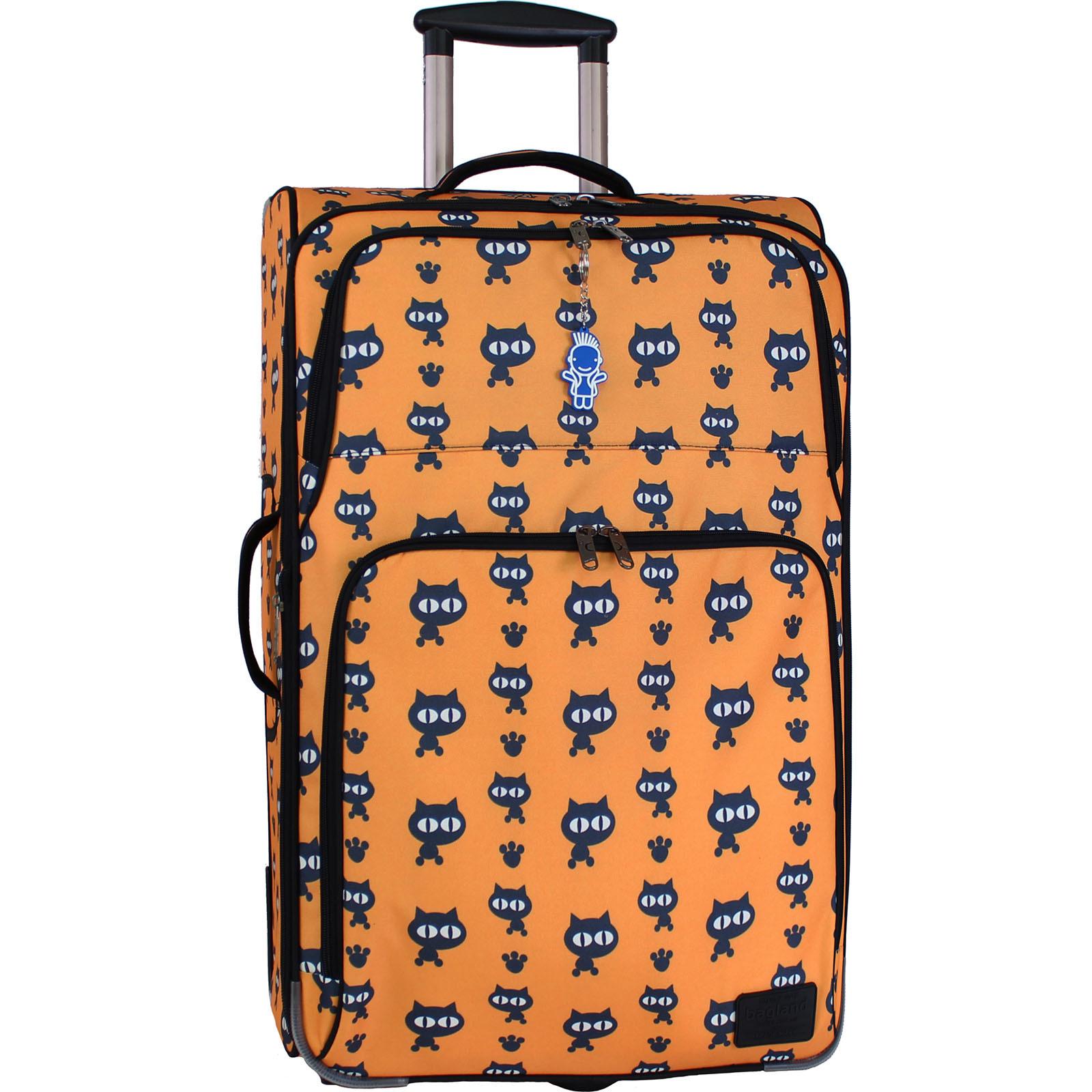 Дорожные чемоданы Чемодан Bagland Леон большой дизайн 70 л. сублімація 177 (0037666274) IMG_9833.JPG