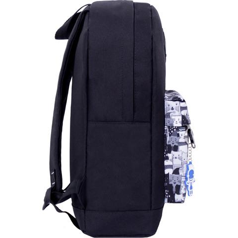 Рюкзак Bagland Молодежный W/R 17 л. черный 457 (00533662)