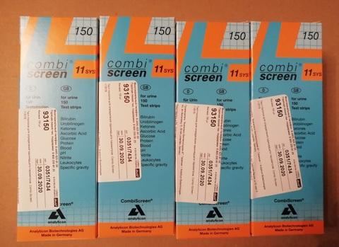 93150 Тест-полоски КомбиСкрин 11 (CombiScreen 11SYS ) для CombiScan 500 Analyticon Biotechnologies AG