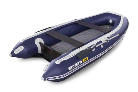 Надувная ПВХ-лодка Солар Максима - 350 (синий)