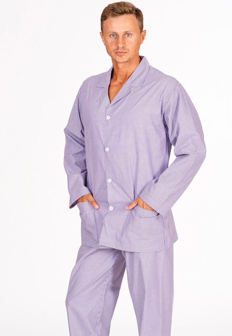 Пижама мужская классического кроя B&B