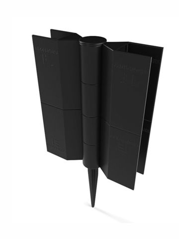 Угловой поворотный элемент для грядок высотой 225 мм