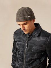 Куртка Alpha Industries B-15 Slim Fit Black Woodland Camo (Черный Камуфляж)