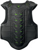 Мотожилет - ICON STRYKER VEST (черный с зеленым)