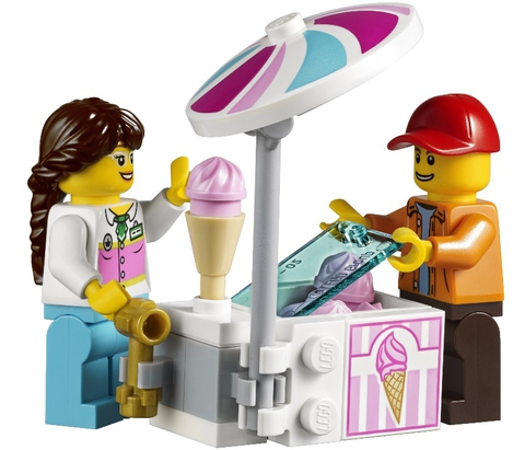 LEGO Creator: Колесо обозрения 10247 — Ferris Wheel — Лего Креатор Создатель Творец