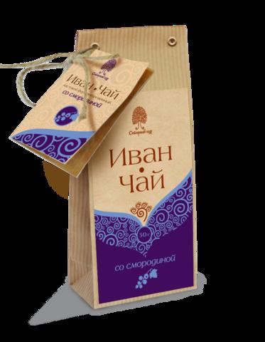 Иван-чай с травами, Сибирский Кедр, Смородина, 50 г