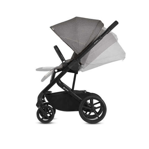 Прогулочная коляска Cybex Balios S Manhattan Grey + дождевик