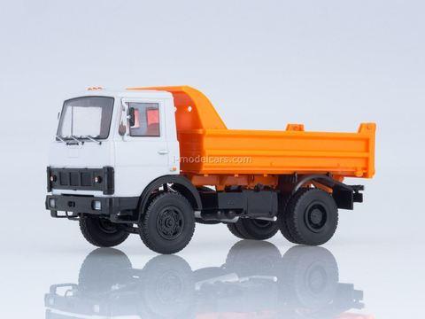 MAZ-5551 dump truck gray-orange 1:43 Our Trucks #25
